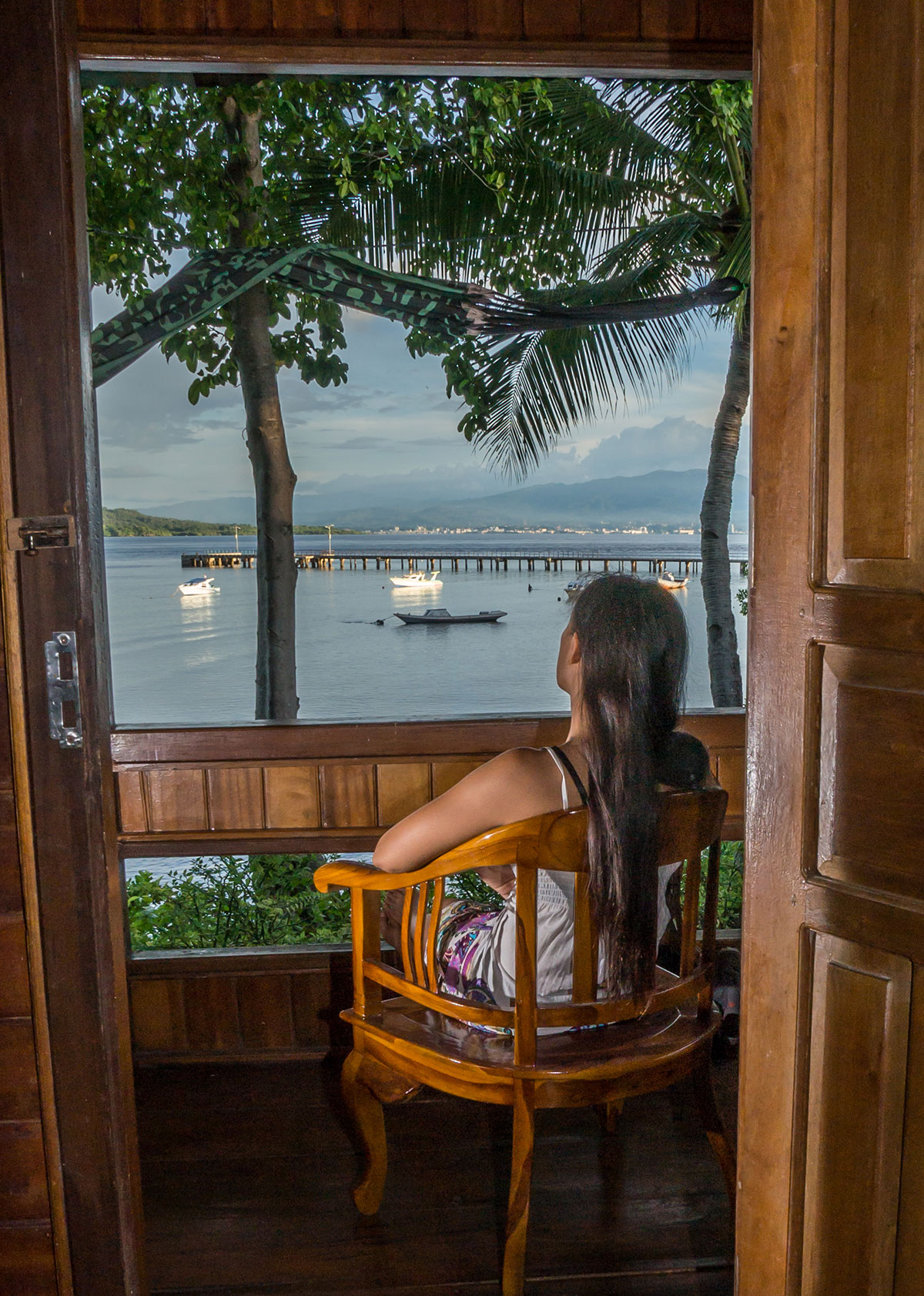 Sea Front Bungalow, Seabreeze Resort, Bunaken Island, Manado, Indonesia
