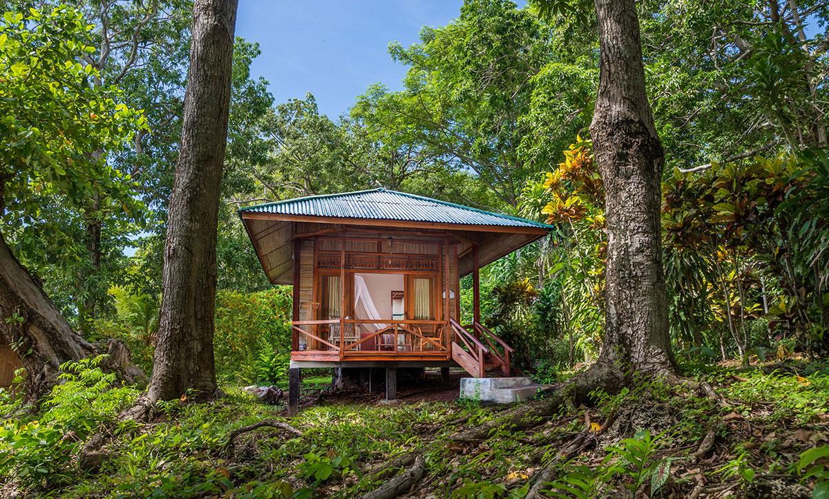 Garden Bungalow, Seabreeze Resort, Bunaken Island, Manado, Indonesia