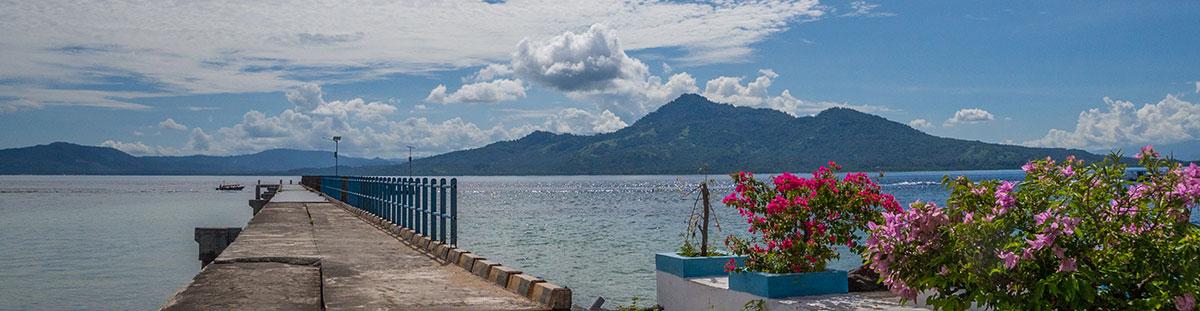 Dock, Bunaken Island, Manado, Indonesia