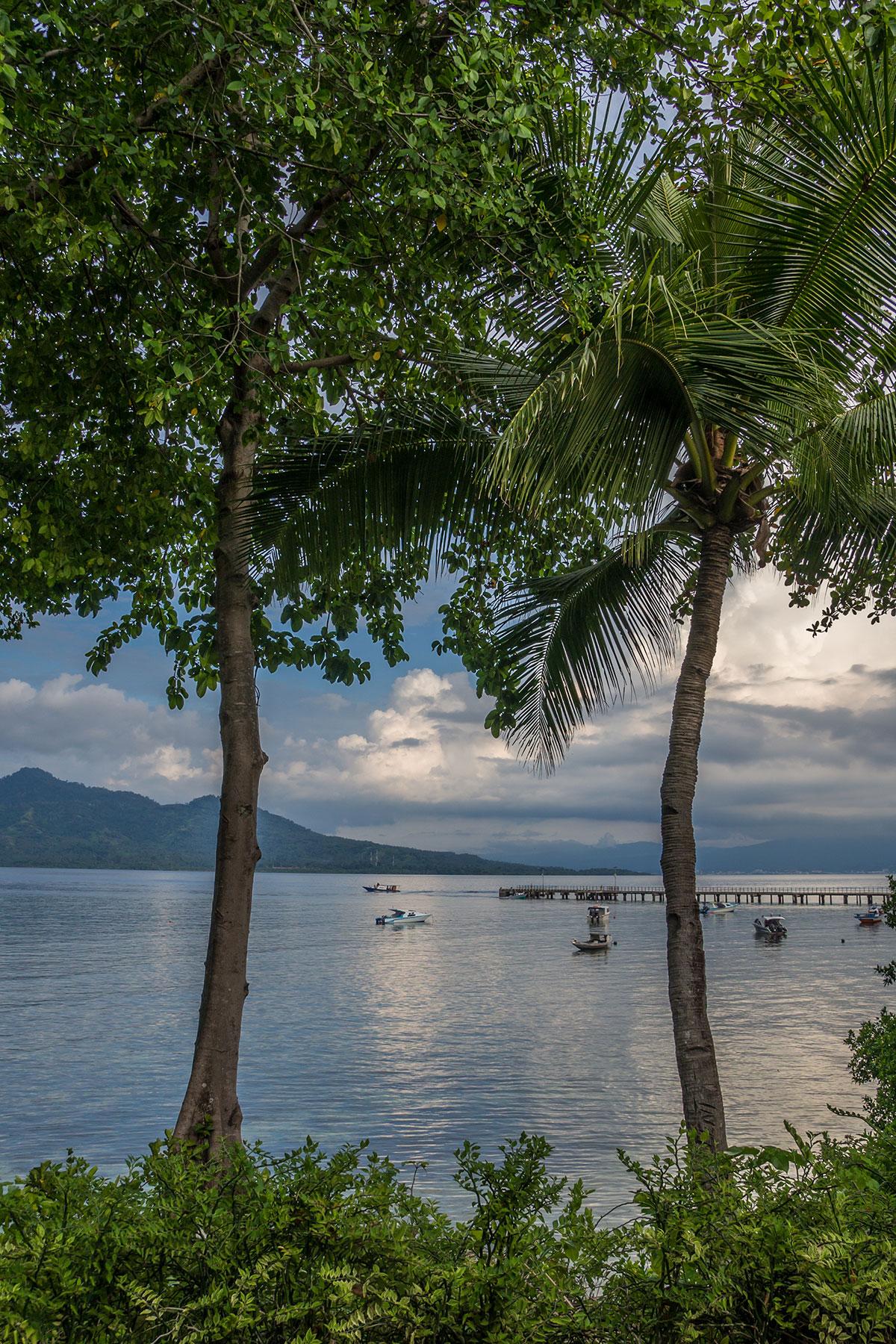 View from Seabreeze Resort, Bunaken Island, Manado, Indonesia
