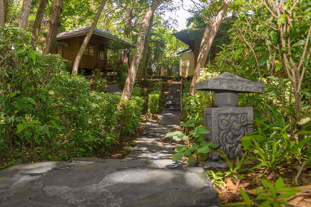 Garden Bungalow, Seabreeze Resort, Bunaken Island, Manado, Indonesia