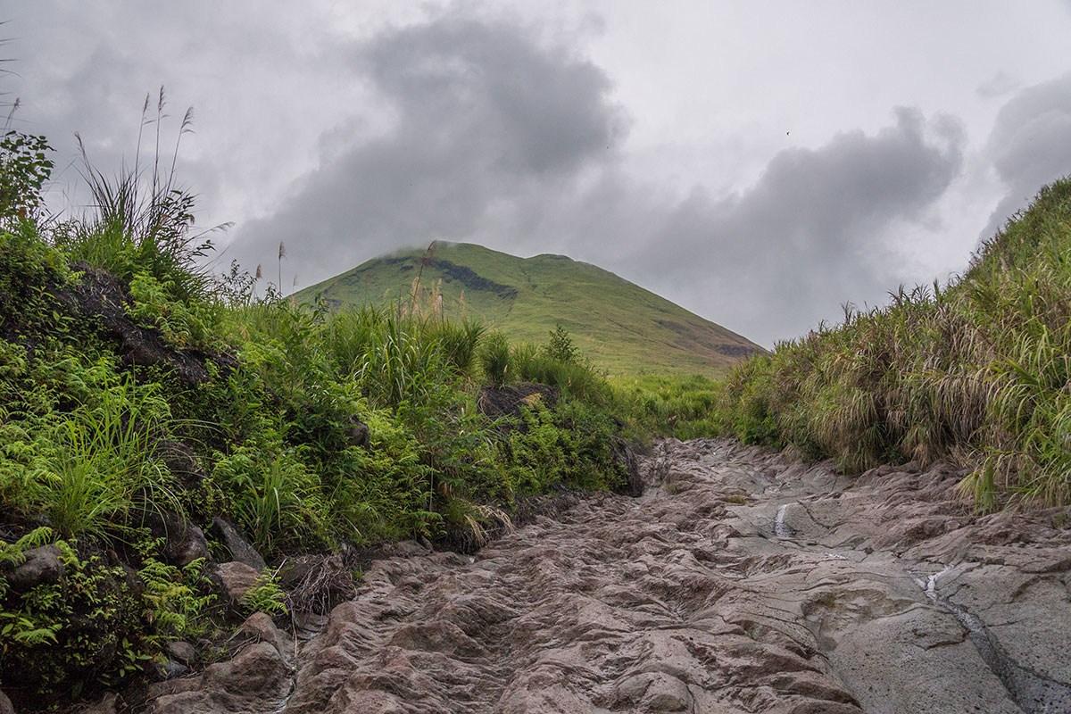 Trail to Mt. Lokon, Manado, Indonesia
